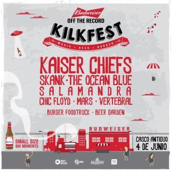 Kaiser Chiefs y The Ocean Blue en el Kilkfest 2016