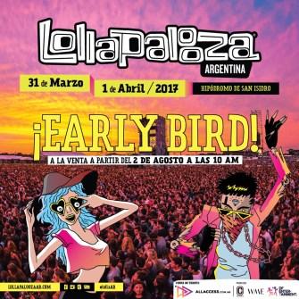 Confirmadas fechas para Lollapalooza en Sudamérica