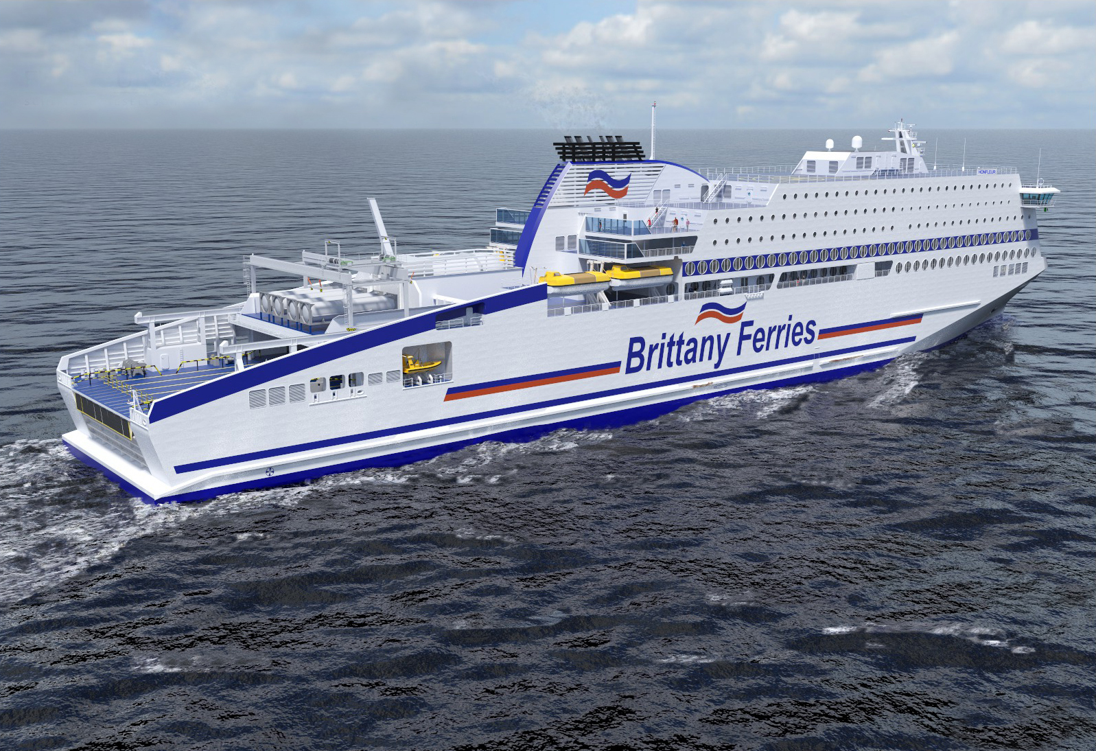 Recyclinghof Flensburg Partners To Supply Lng To France 39s First Lng Fueled Ferry