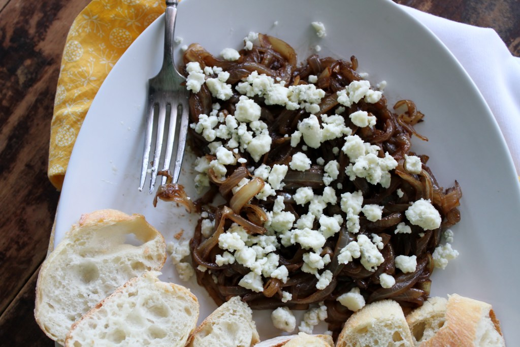 Caramelized Onion Crostini - Brittany's Pantry : Brittany ...
