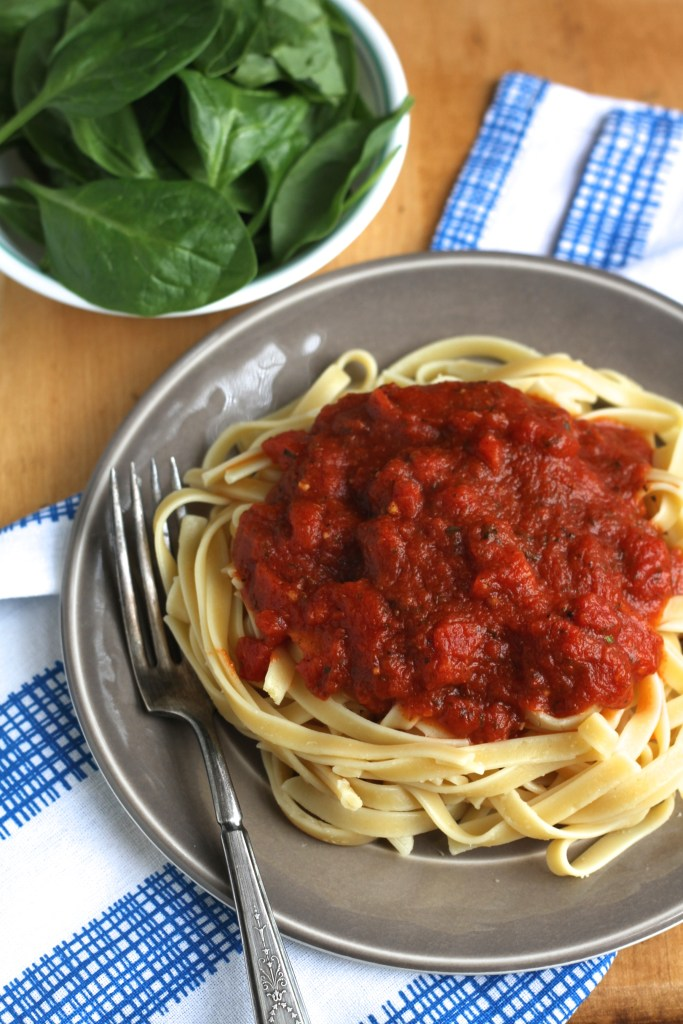 Weeknight Marinara: How To Make Store-Bought Sauce Taste Homemade {Brittany's Pantry}