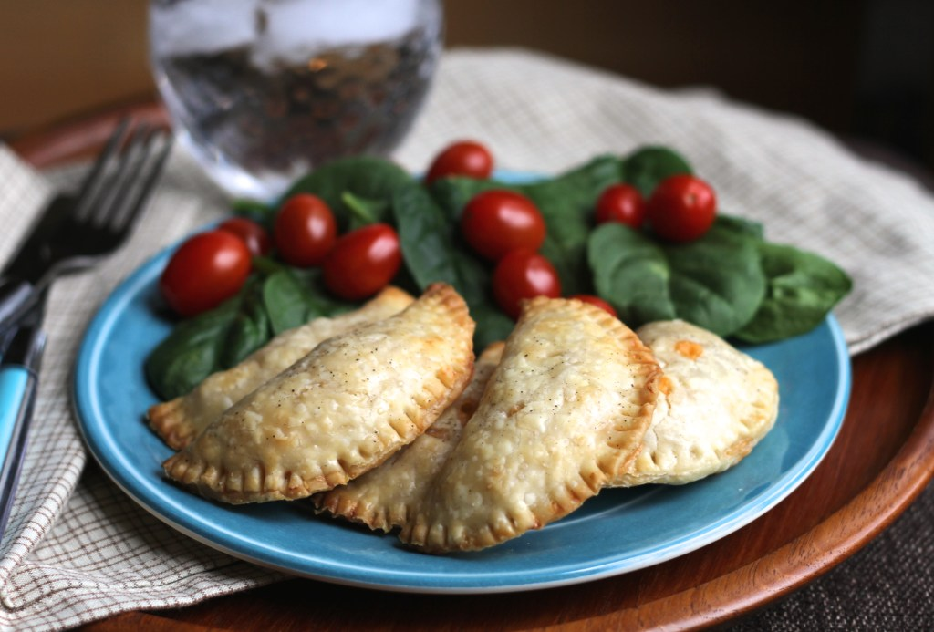 Savory Chicken Chile Hand Pies via Brittany's Pantry