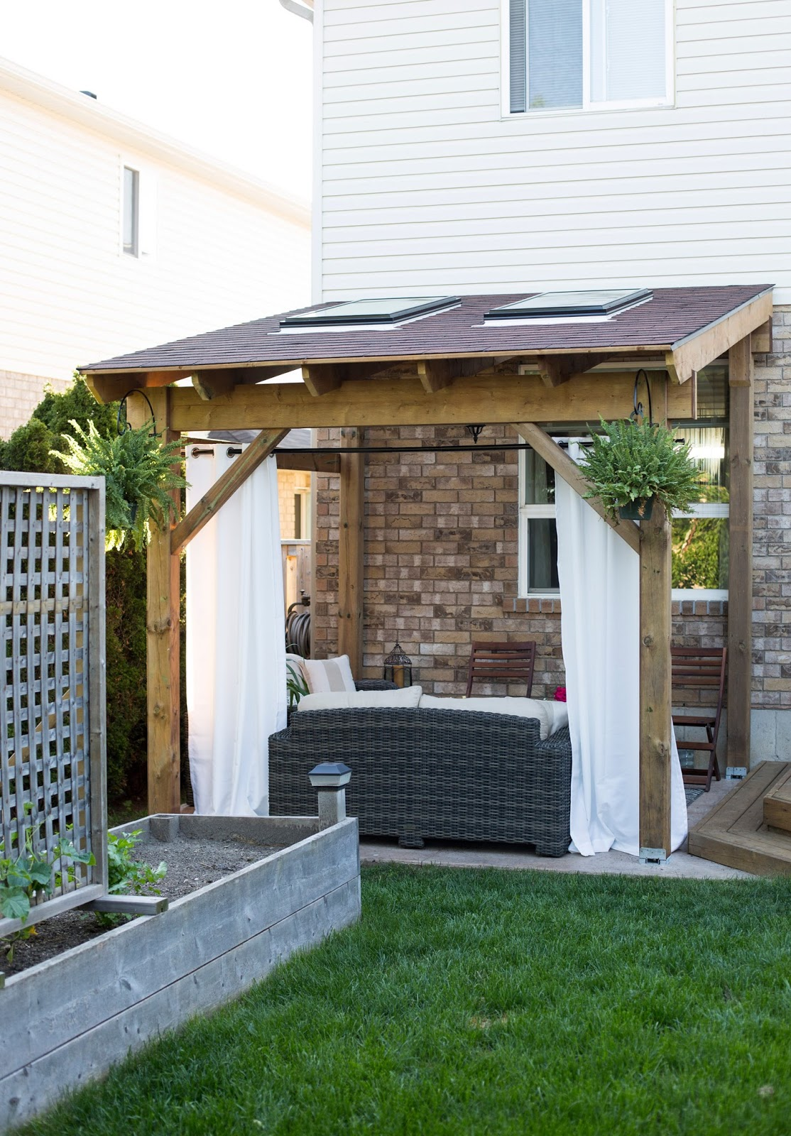 Cover Patio Pergola Hdblogsquad How To Build A Covered Patio Brittany Stager