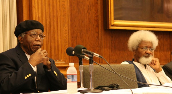Soyinka and Achebe