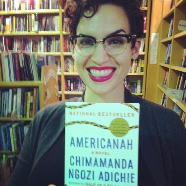 Only Americanah can make a reader smile so broadly and so sweetly?  (instragram via @sordaradical)