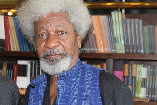 I Threw Away The Green Card, I Have Relocated - Wole Soyinka