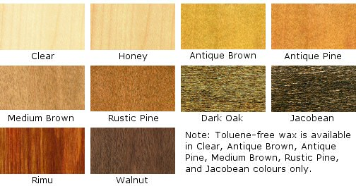 Jacobean Floors Waxes - Briwax Wood Care Products