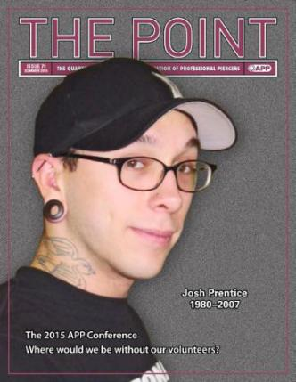 The Point Issue 71 Asocierea de profesional Piercers