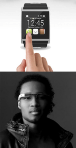 Apple Watch and Google Glasses