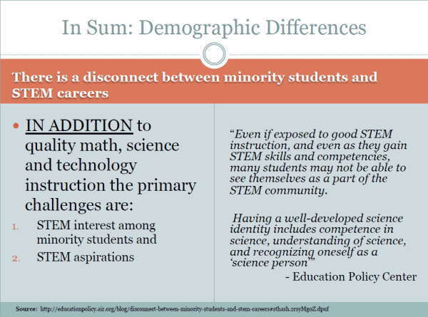 Slide 8 - In Sum - Demographic Differences