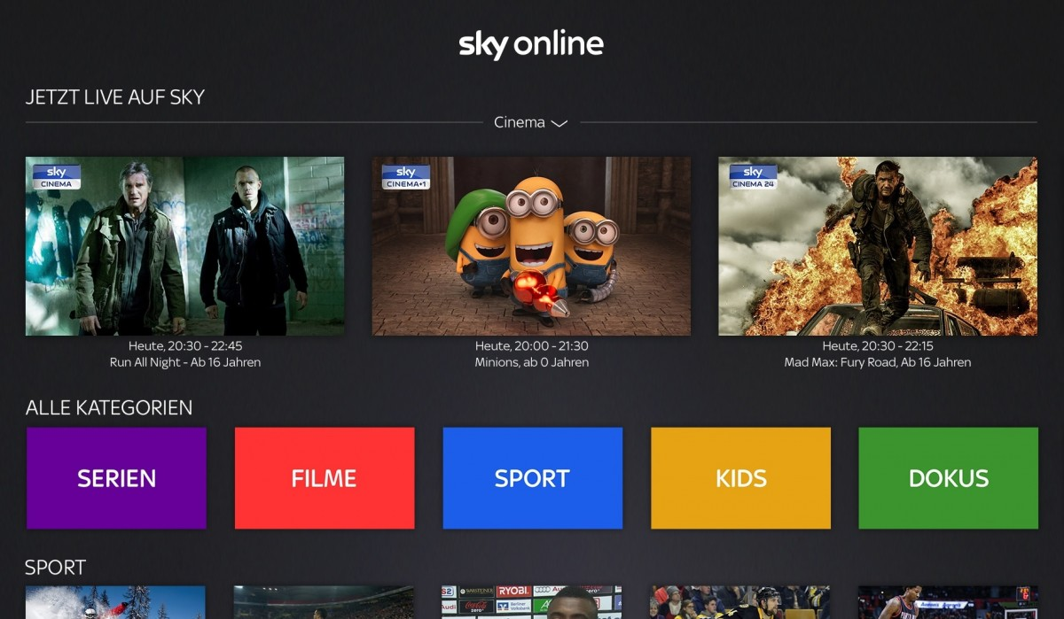 Alle Serien Online Sky D Brings Ott Service To Apple Tv 4