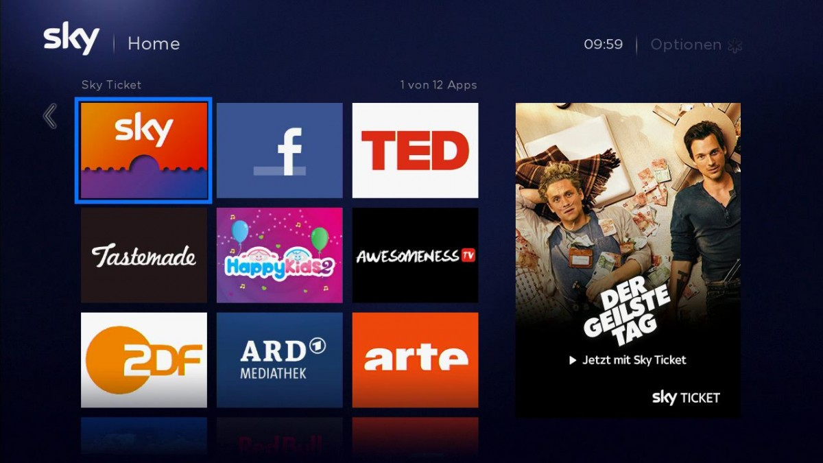 Arte Mediathek App Sky D Adds New Apps To Streaming Box