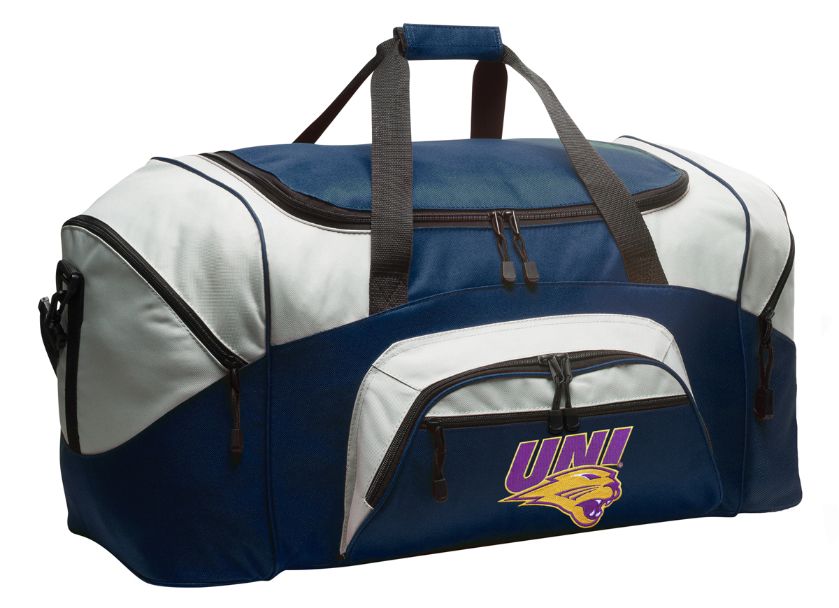 Tote Bags For Uni Large University Of Northern Iowa Duffle Uni Panthers