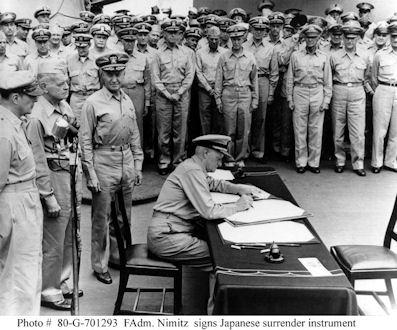 WWII surrender