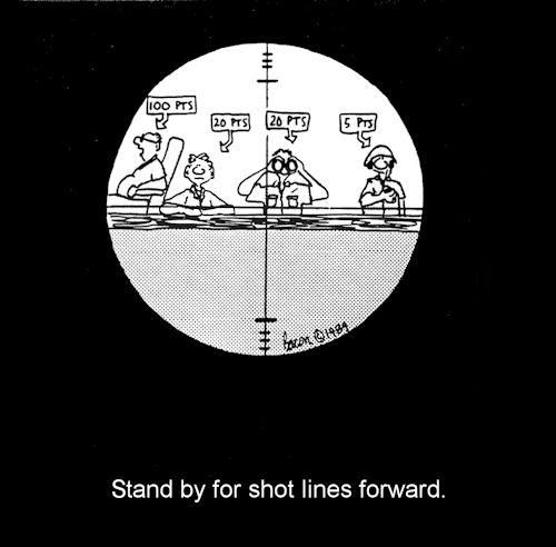 change shot lines