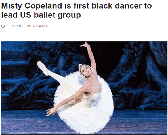 2015-07-01 18_18_37-Misty Copeland is first black dancer to lead US ballet group - BBC News
