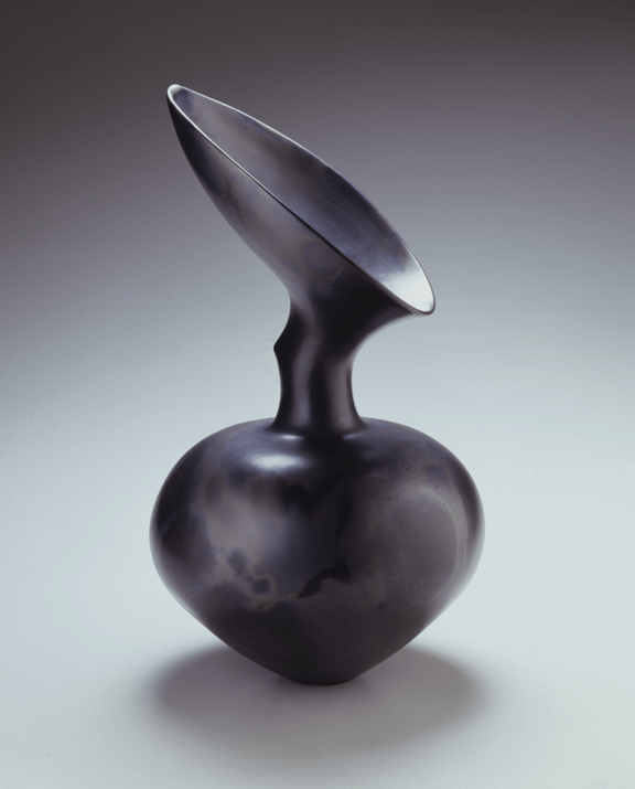 Magdalene Odundo, Untitled #10, 1995; Earthenware, 21 1/4 x 12 x 12 in.; Courtesy of the Newark Museum, Purchase 1996, Louis Bamberger Bequest Fund 96.29; Photo by Richard Goodbody