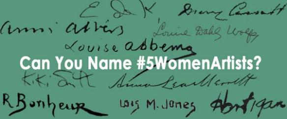 Narrow 5WomenArtists for press release