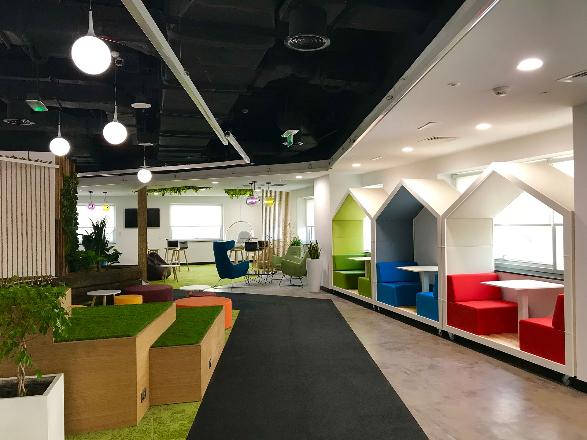 Home Office Design Dewa's New Office Featured Online With Commercial Interior
