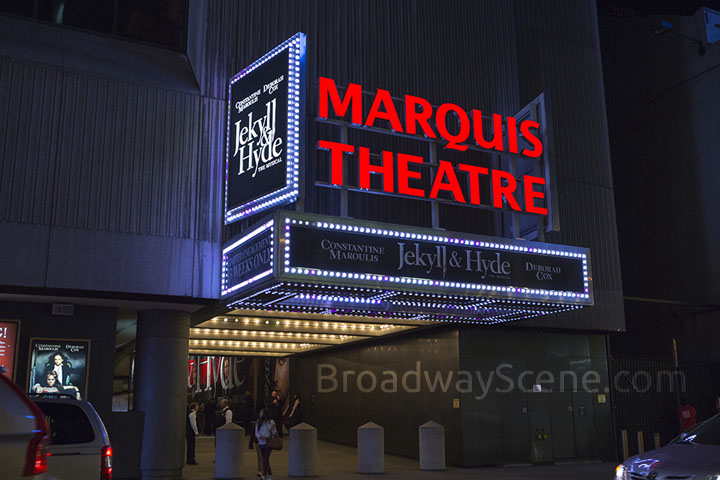 Marquis Theatre Broadway Seating Charts,History, Info Broadway Scene