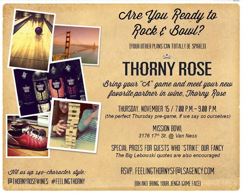 Thorny Rose Wine - Media Event (2/4)