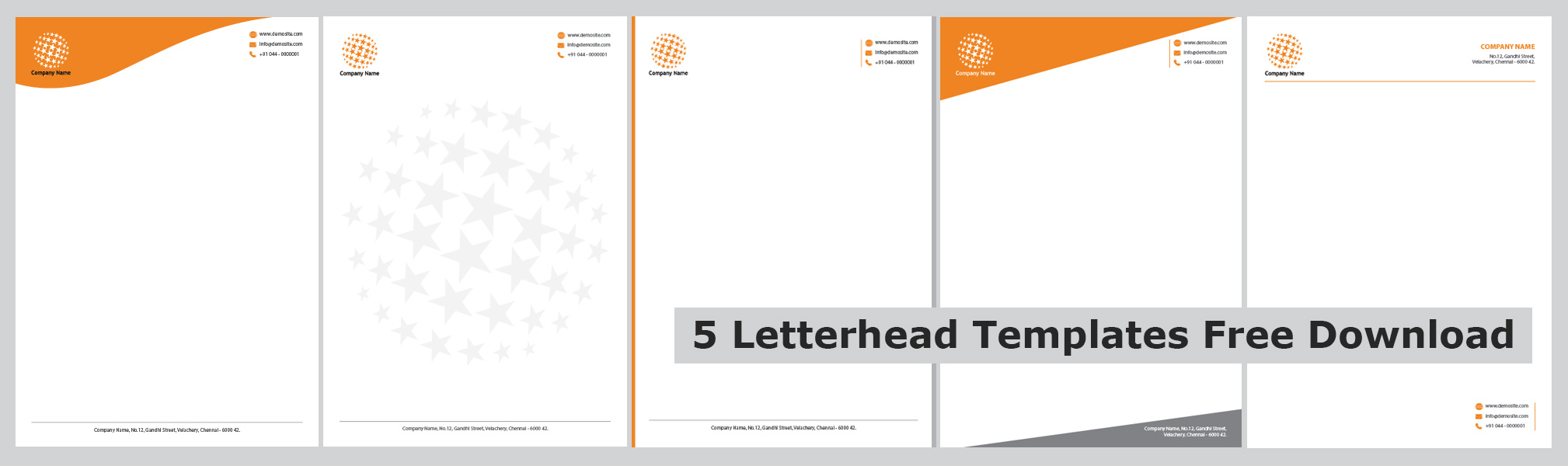 How to design a company letterhead for free – Company Letterhead Samples Free Download