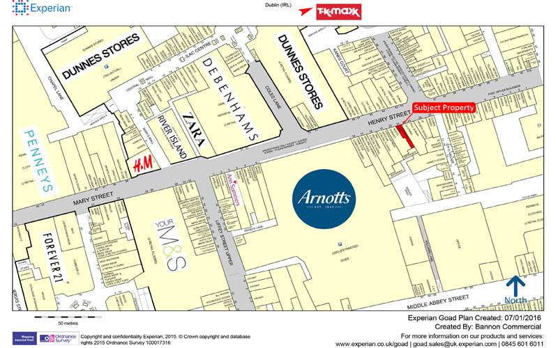 21 Henry Street Dublin 1 Bannon