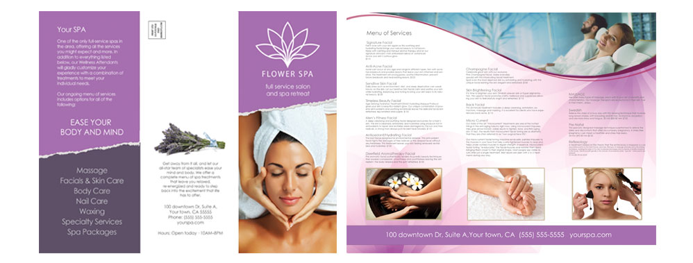 MARKOTSDESIGNS » Spa Brochure 01 - spa brochure