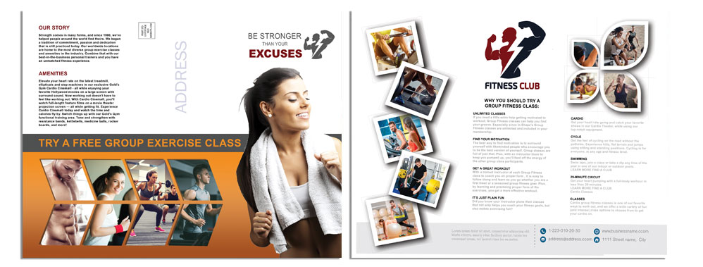 MARKOTSDESIGNS » Fitness Brochure 01