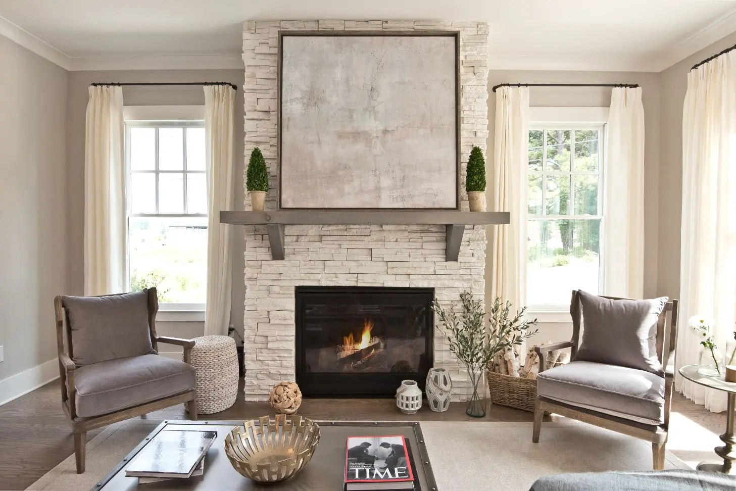 Decorations For Fireplaces Warm Your Home With Fireplace Decor Brock Built