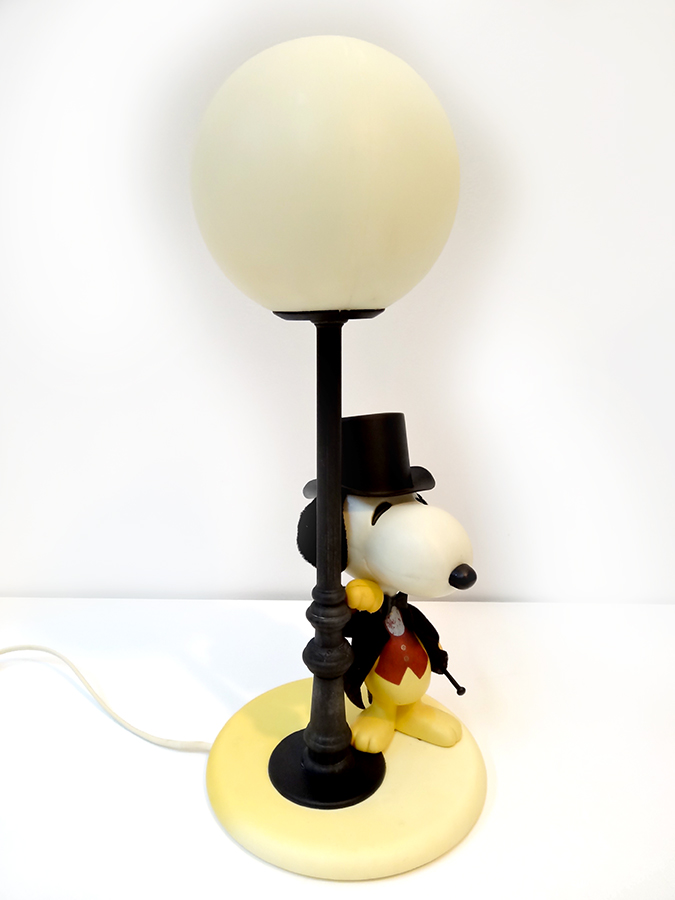 Salon Deco Paris 2016 Lampe Vintage Snoopy - Brocnshop