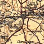 niemiecka mapa sztabowa z 1915r