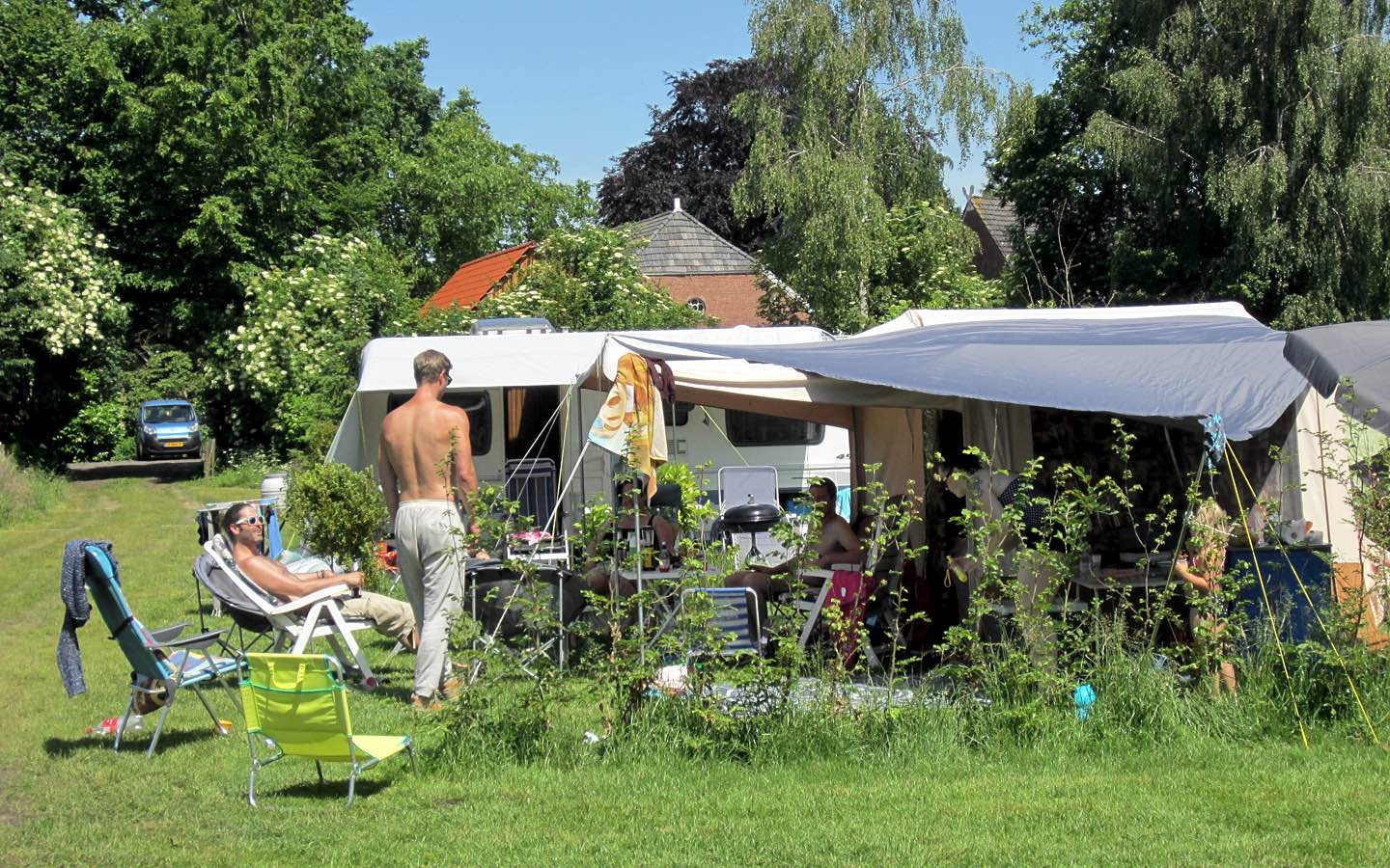 2 Pits Camping Gasstel Camping De Broekse Hoeve Groepsaccomodaties And Camping