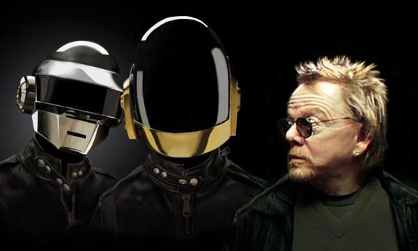 Daft Punk et Paul Williams un des collaborateurs de l'album Random Access Memories