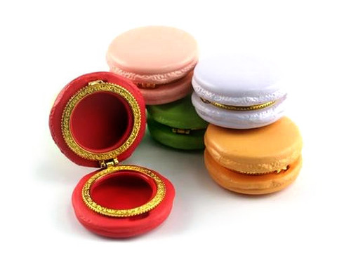 Macaron Trinket Boxes from Waiting On Martha $10