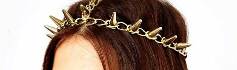 9 Spike-Laden Hair Accessories