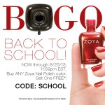 Daily Deal: Zoya's BOGO Event