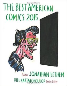The Best American Comics 2015 ed. Jonathan Lethem