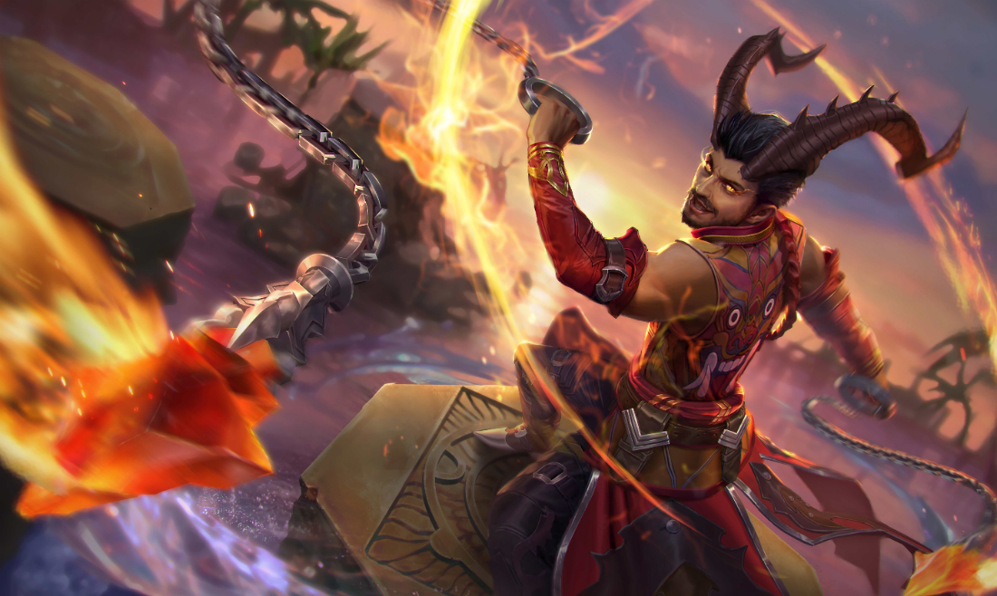 Night King Hd Wallpaper Raze The Halcyon Fold With New Vainglory Hero Reza