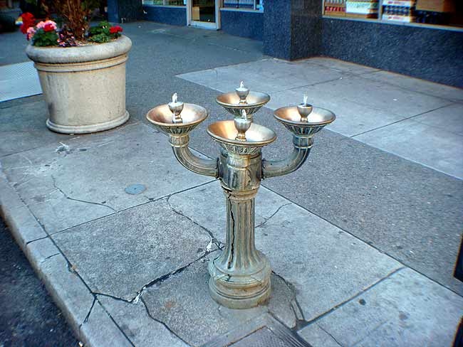 Benson Bubbler drinking fountain in Portland (BS Photo)