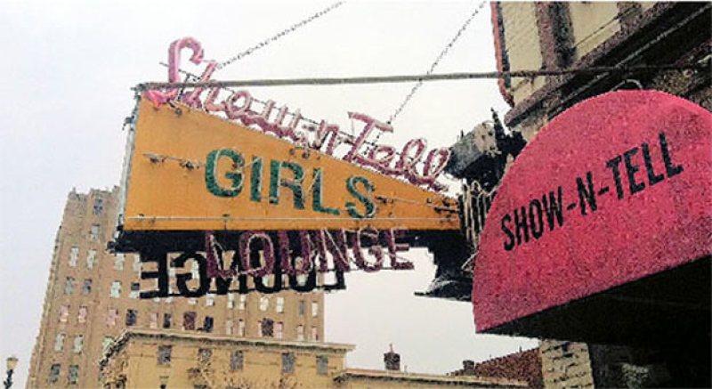 Neon sign on Chestnut Street.