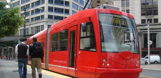 The Seattle streetcar. (Courtesy SDOT)