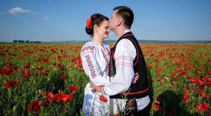 rochii popular romanesc
