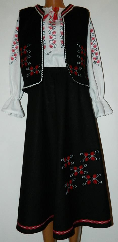 rochie motive populare romanesti 5