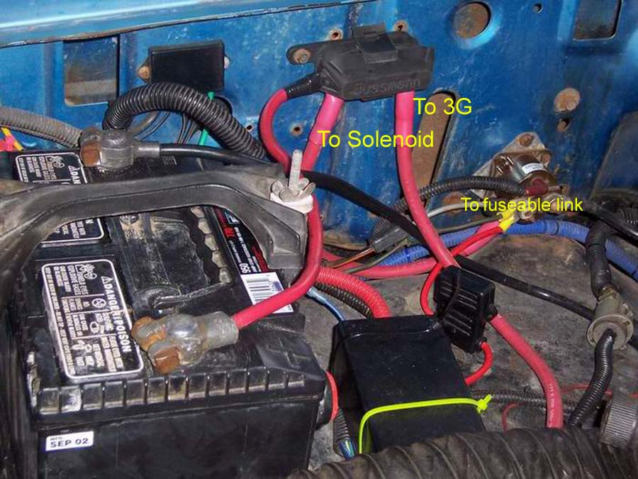 3G alternator question - 66-77 Early Bronco Tech Support - 66-96