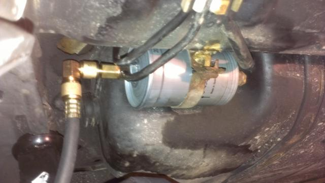 Runs better with fuel pressure regulator vacumn line plugged - 80-96