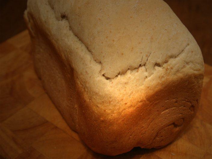 Witbrood recept voor in de broodbakmachine