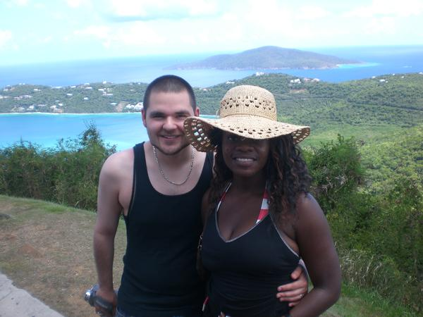hubby and I on our honeymoon in 2007