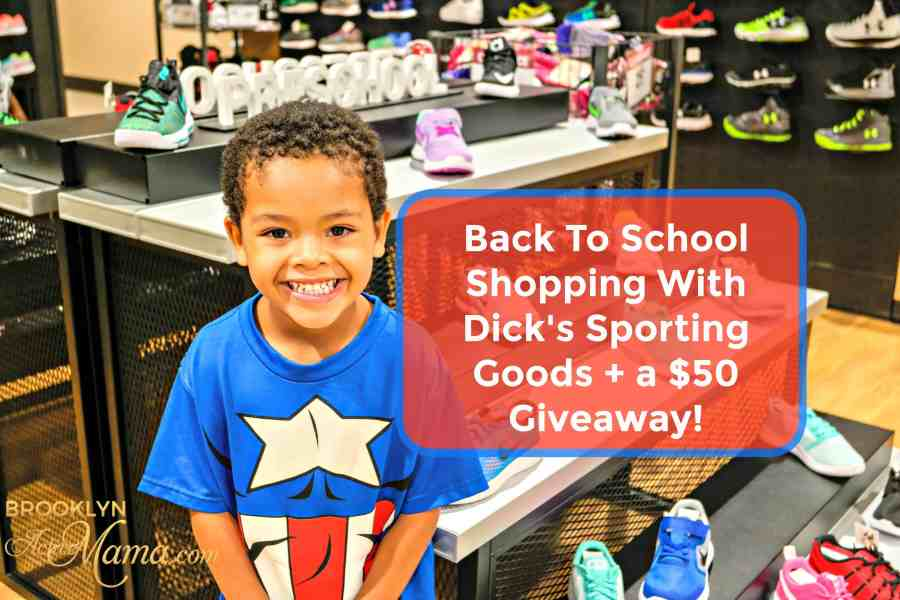 Back To School Shopping With Dick's Sporting Goods + a $50 Giveaway!