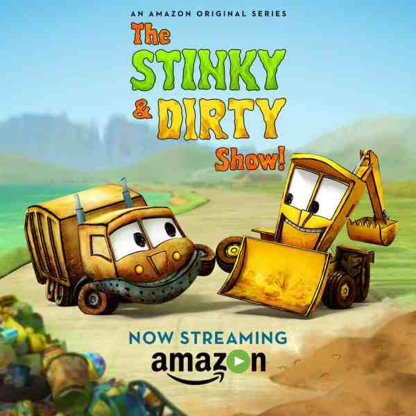 """Stinky & Dirty"" Animated Series Promotes Problem Solving and Recycling"